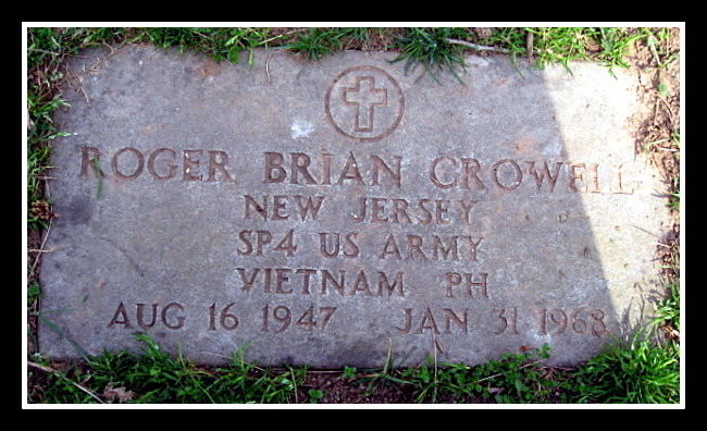 Roger Crowell, Glendale Cemetery, courtesy Together We Served