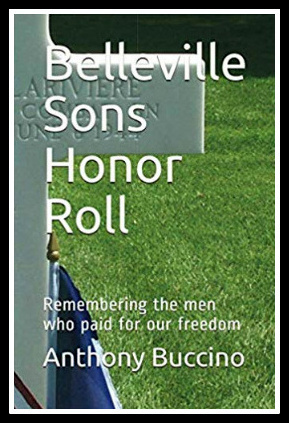 Belleville NJ Sons Honor Roll, book, by Anthony Buccino