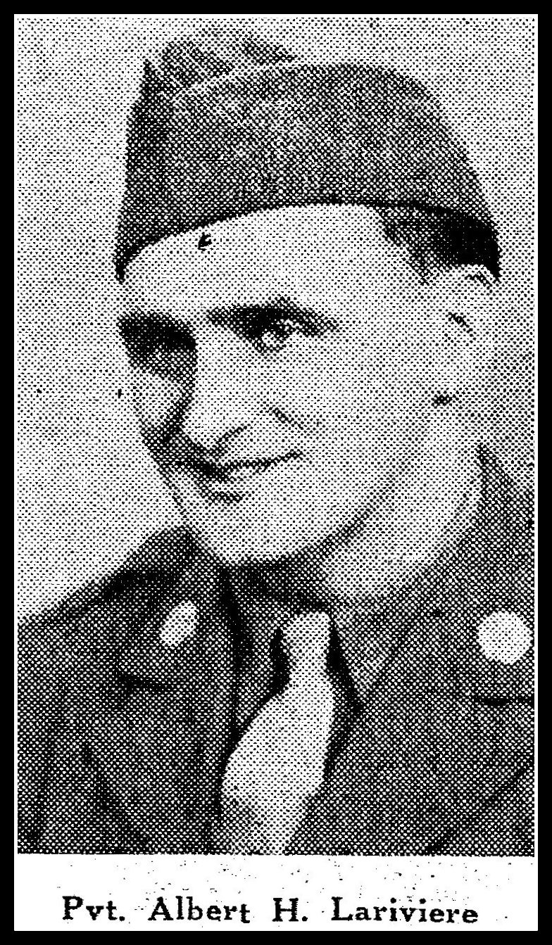 Pvt. Albert H. Lariviere, KIA, D-Day Invasion, Normandy, France