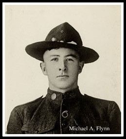 Michael Flynn, of Belleville, NJ, died enroute home from WWI