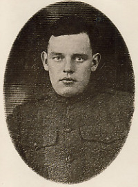 PFC Thomas Joseph Mooney of Belleville, N.J. KIA Sept. 27, 1918.