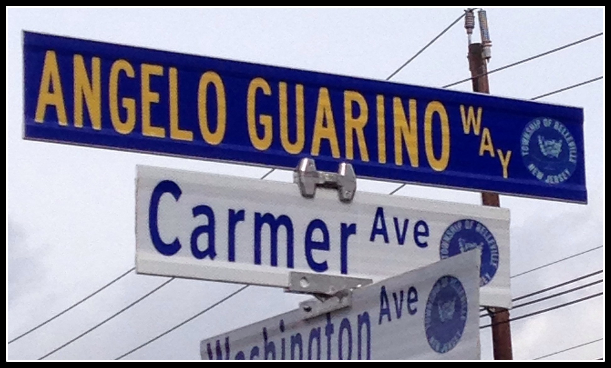 Angelo Guarino Way, Belleville, N.J.