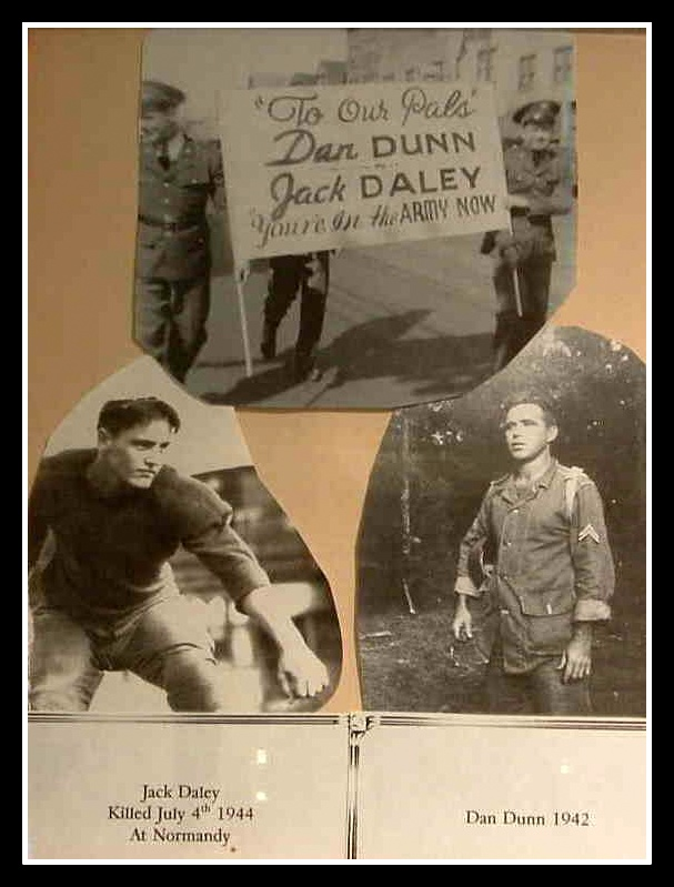 Jack Daley, Dan Dunn in WWII