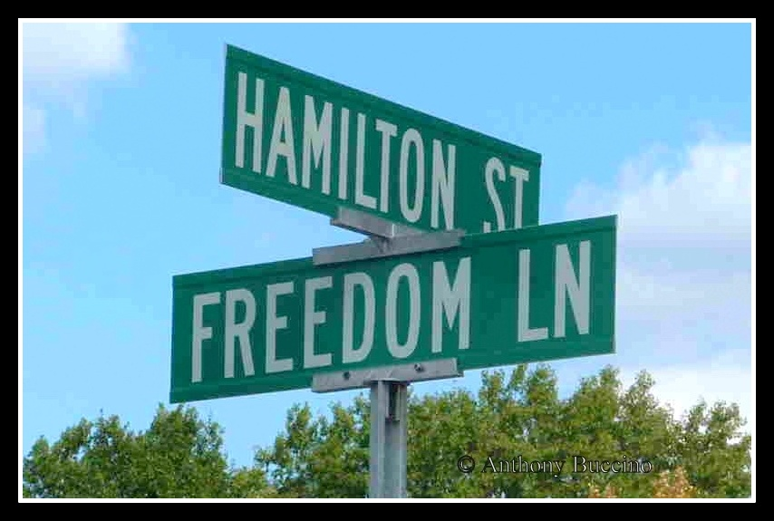 Hamilton Street in honor of William Hamilton, KIA, WWII