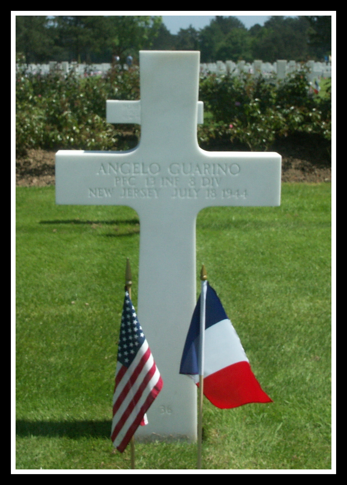 Normandy Photo Copyright © 2004 by Robert Caruso, used by permission