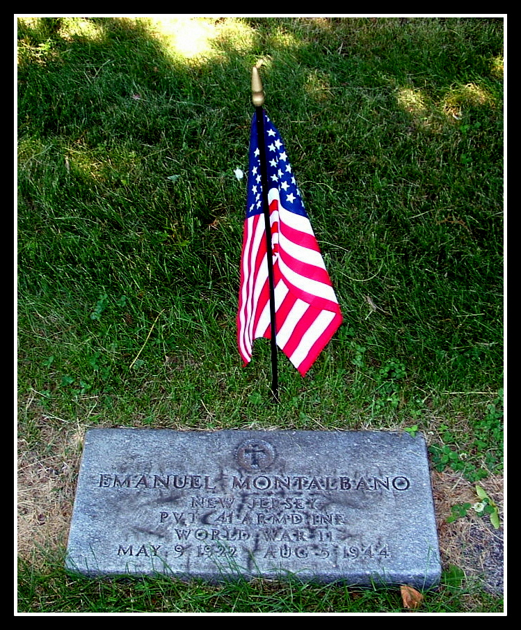 Pvt. Emanuel J. Montalbano, of Belleville, was killed in action.