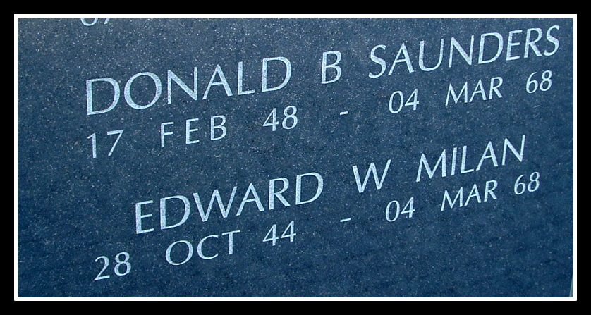 Donald Saunders, NJ Vietnam Memorial, © 2004 by Anthony Buccino